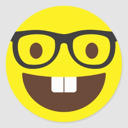 Cute Geeky Emoji Stickers