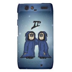 cute Gemini Motorola Droid RAZR Cases