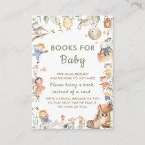 Cute Gender Neutral Nursery Rhyme Books for Baby Enclosure Card