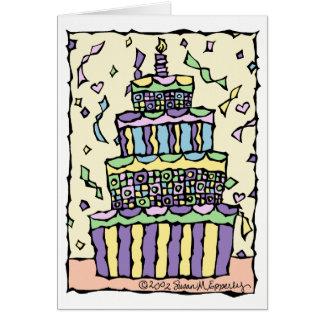 Cute Gender Neutral Unisex Happy Birthday for Kids Card