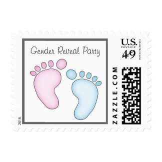 Cute Gender Reveal Party Postage