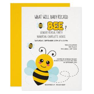 What Will It Bee Invitations Zazzle
