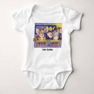 Cute Genius Cartoon Funny Baby T Shirt