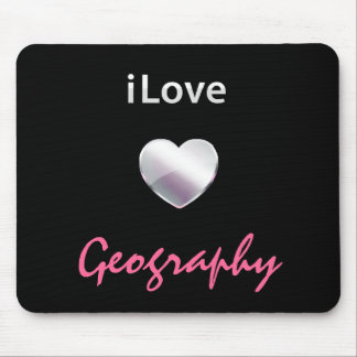 Cute Geography Mousepad