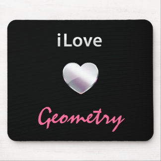 Cute Geometry Mouse Pad