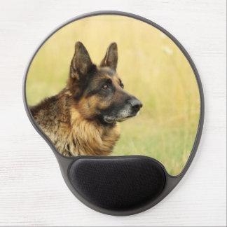 Cute German Shepherd Gel Mousepad