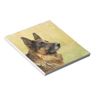 Cute German Shepherd Notepad