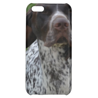 Cute German Shorthaired Pointer iPhone 5C Cases