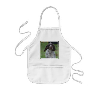 Cute German Shorthaired Pointer Kids' Apron