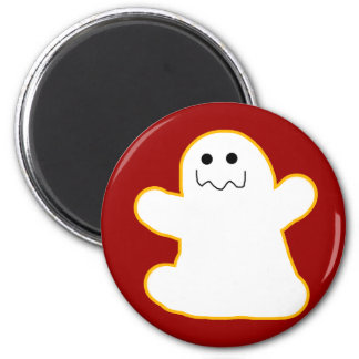 Cute Ghost Add Your Own Caption or Text Refrigerator Magnet