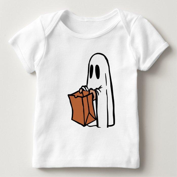 Cute Ghost Baby Long Sleeve Tee