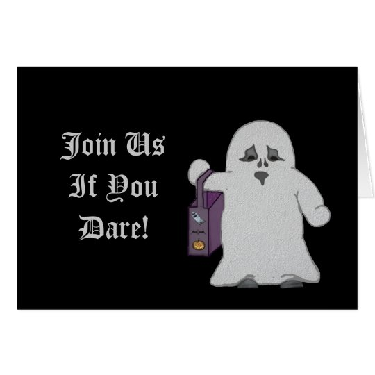 Cute Ghost Collection Card