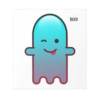 Cute Ghost Notepad