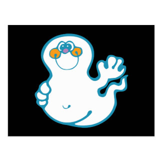 Cute-Ghost Postcard