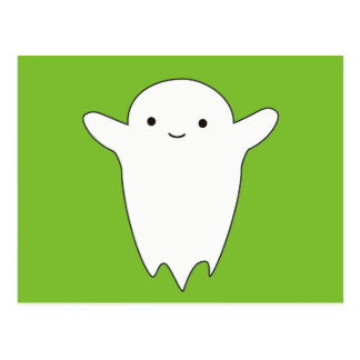 Cute Ghost Postcard