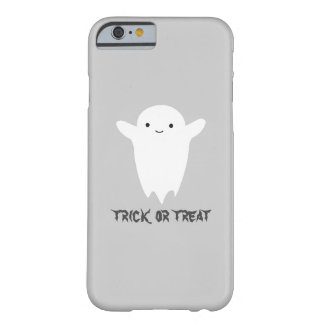 Cute Ghost - Trick or Treat Barely There iPhone 6 Case