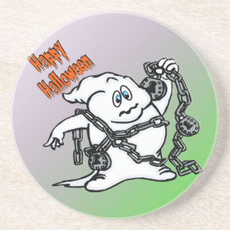 Cute Ghost with Chains Coaster