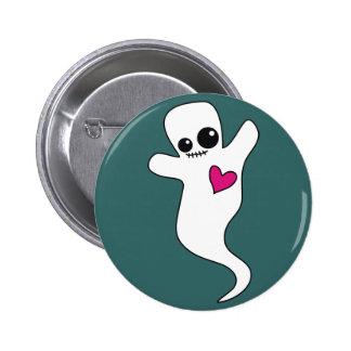 Cute Ghostie Button