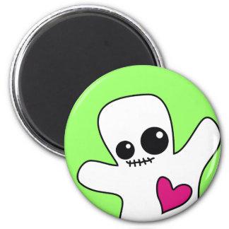 Cute Ghostie 2 Inch Round Magnet
