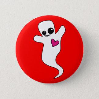 Cute Ghostie Pinback Button