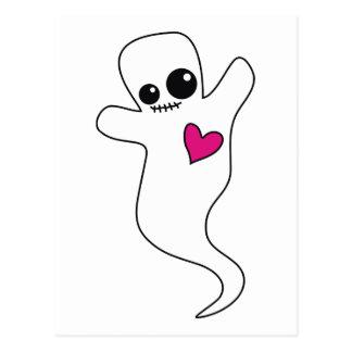 Cute Ghostie Postcard