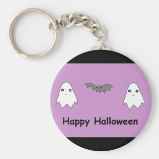 Cute Ghosts and Bat Friends Keychain