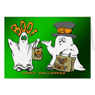 Cute Ghosts Greeting Card