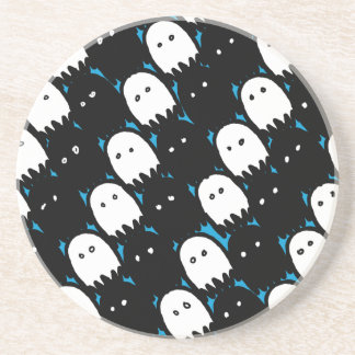 Cute Ghosts Drink Coasters
