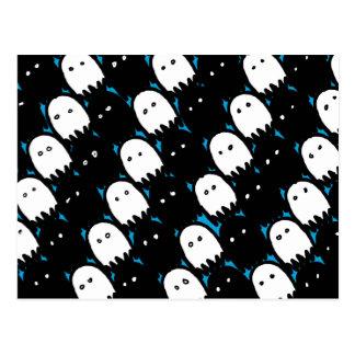 Cute Ghosts Postcard