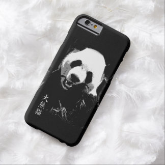 Cute Giant Panda Bear Cub Eating Bamboo Leaves Barely There iPhone 6 Case