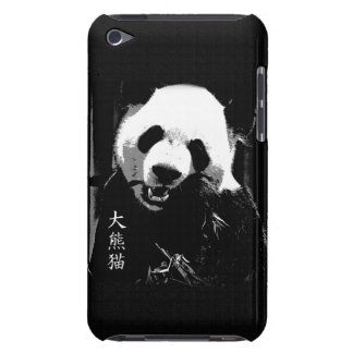 Cute Giant Panda Bear Cub Eating Bamboo Leaves Barely There iPod Case