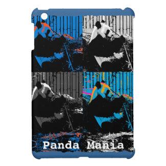 Cute Giant Panda Bear in colourful Artwork iPad Mini Covers