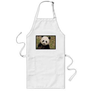 Cute Giant Panda Bear Long Apron