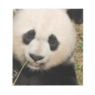Cute Giant Panda Bear Note Pad