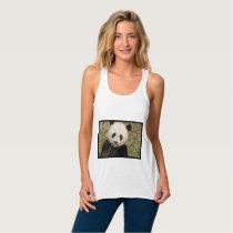 Cute Giant Panda Bear Tank Top