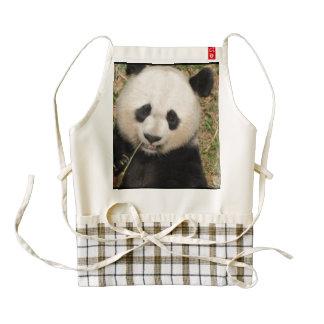 Cute Giant Panda Bear Zazzle HEART Apron