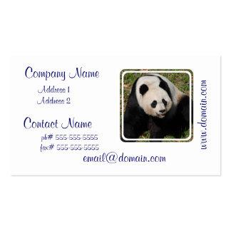 Cute Giant Panda Business Card
