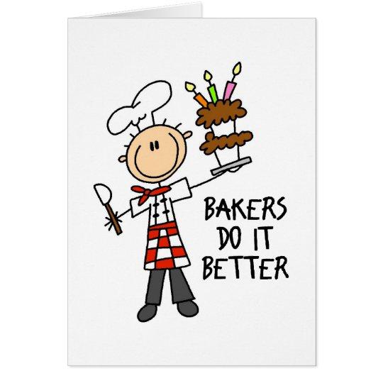 Cute Gift For Baker Card