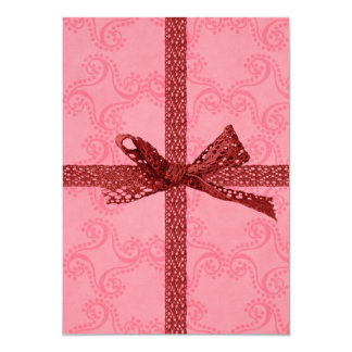 Cute Gift Look and Hearts Valentine's Day Birthday Card