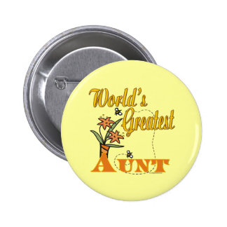 Cute Gifts For Aunts 2 Inch Round Button