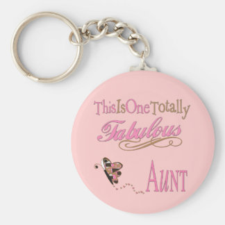 Cute Gifts For Aunts Basic Round Button Keychain