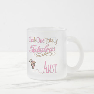 Cute Gifts For Aunts Frosted Glass Coffee Mug