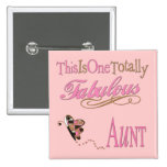 Cute Gifts For Aunts Pinback Buttons