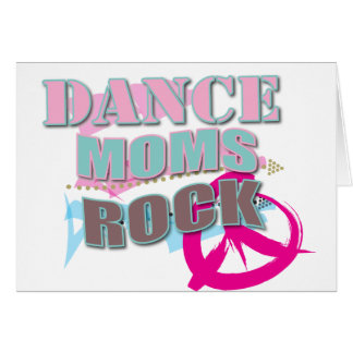 Cute Gifts for Dance Moms Greeting Card