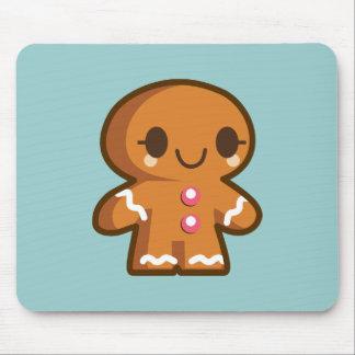 Cute Gingberbread Man Mouse Pad