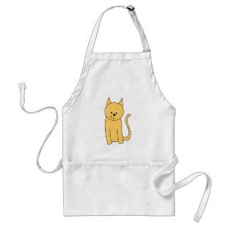 Cute Ginger Cat. Adult Apron