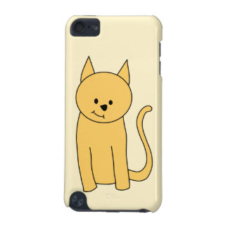 Cute Ginger Cat. iPod Touch (5th Generation) Case
