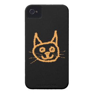 Cute Ginger Cat. iPhone 4 Case-Mate Case