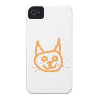 Cute Ginger Cat. Case-Mate iPhone 4 Case