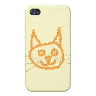 Cute Ginger Cat. Cases For iPhone 4